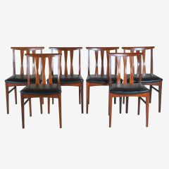 Midcentury Afrormosia Dining Chairs