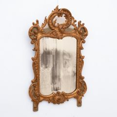 18th Century French Gilded Mirror