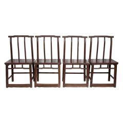 19th Century Chinese Elm Chairs
