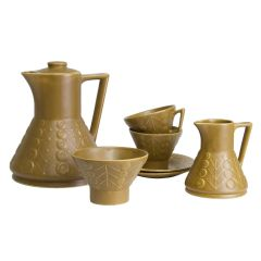 The Astra Range Coffee Set by Maxwell Wood c.1970