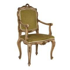 Antique French Painted Chair c.1860