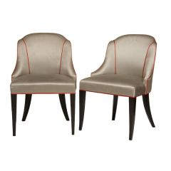 Pair of Art Deco Chairs from 'The Halcyon' TV Set