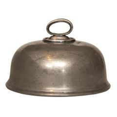 Vintage Silver Plated Cloche