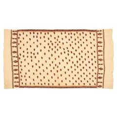 Early 20th Century Embroidered Cotton Shawl from Sind Provence, Pakistan