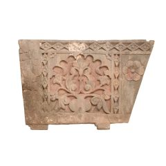 Early 19th Century Sandstone Balustrade Panel from Rajasthan