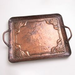 Arts & Crafts Copper Tray by John Pearson c.1900