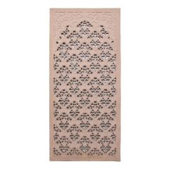 Late 20th Century Hand Carved Sandstone Jali Panel
