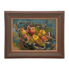 Brian Oxley Still Life with Apples 2017