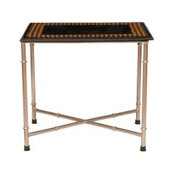 Indian Black Marble Side Table
