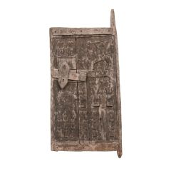 West African Antique Dogon House Door from Mali