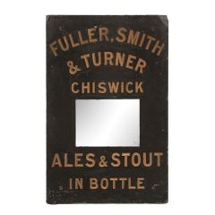 Early 20th Century Slate Fullers Smith & Turner Sign