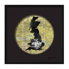 'Anarchy in the UK' Mixed Media Vinyl Artwork by Keith Haynes