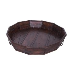 19th Century Indian Grain Store Tray