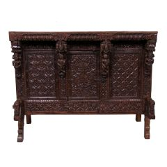 Indian Manjus Dowry Cabinet from Gujarat