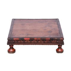 19th Century Indian Bajot Low Table