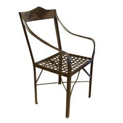 Antique Metal Chair from Rajasthan