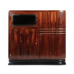 French Art Deco Rosewood Cabinet c.1925