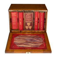 W. Thornhill & Co. Oak Cased Set of Reference Directories c.1895