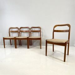 Teak Dining Chairs Made In Denmark