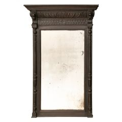 Antique French Overmantle Mirror c.1890s