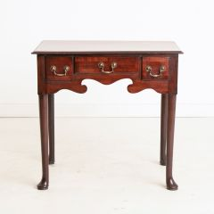 Antique Red Walnut Occasional Table c.1850