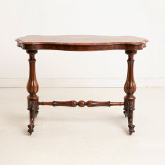 Antique Victorian Rosewood Side Table c.1860