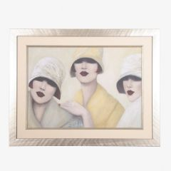 Framed Art Deco 'Mo Walsh' Limited Edition Print 11/50