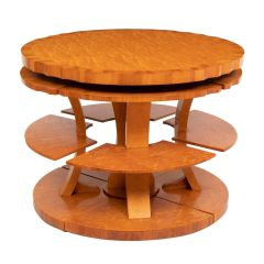 Art Deco nest of tables by Harry Lou Epstein c.1930