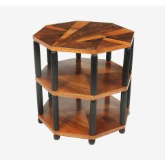 Art Deco Occasional Octagonal Table France c.1920