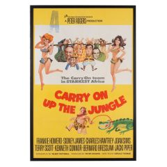 Carry On Up The Jungle Original Film Poster