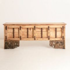 Console Table made from Antique Door Panel
