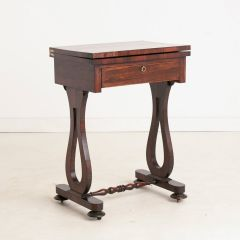 Early Victorian William IV Rosewood Card Table