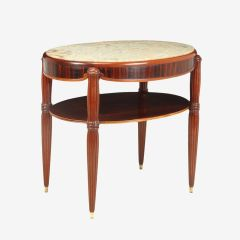 French Art Deco Occasional table with Marble Top c.1930