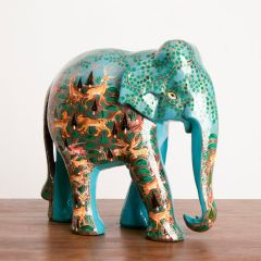 Hand Painted Elephant from Kashmir