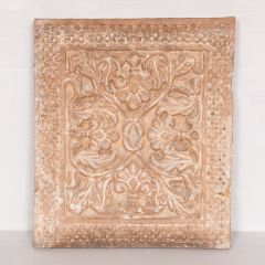 Early 19th Century Indian Mughal Carved Sandstone Panel