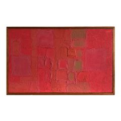 Midcentury Abstract Painting by William Chard