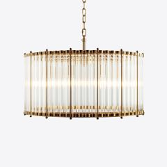 Contemporary 'Monza' Chandelier in 3 Sizes