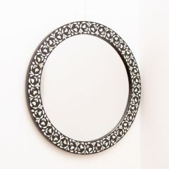 Indian Mughal Style Round Mirror