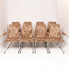 Vintage Lisse Chairs by Pieff c.1970