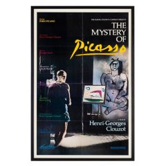 Vintage The Mystery of Picasso Film Poster