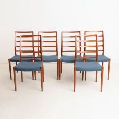 Set of 6 Model 83 Dining Chairs by Niels Moller