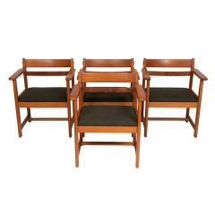 Set of 4 Midcentury Dining Chairs c.1950