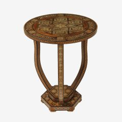 Syrian Inlaid Occasional Table c.1920